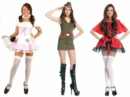 the costumes above are being sold at these stores army girl party city little red riding hood party city
